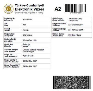 ewiza turcja 2014
